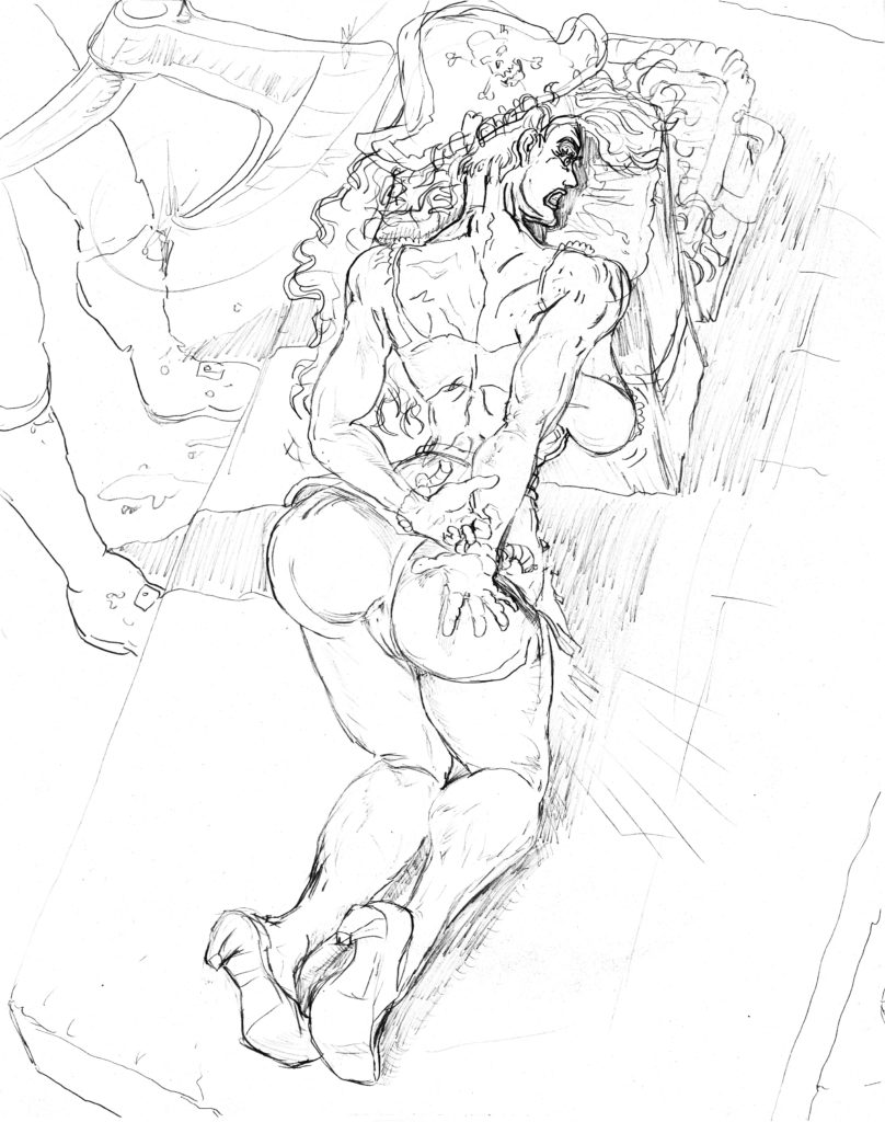 Worth redrawing with some proportional details, and expression reference - nude and costume variation.  And as an animation  ( noticed after recent updates, to Word Press,  I don't have the option to link the image to media ( but if you right click, and choose open in a new tab, it's just like before.